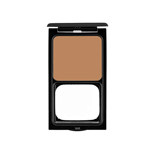 Cream Foundation Compact by Sacha Cosmetics, Best Natural Matte Makeup to give Flawless Looking Skin, Full Coverage, Normal to Dry Skin, 0.45 oz, Perfect Honey