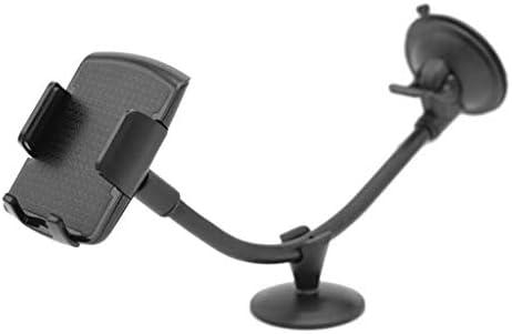 Rui Peng 携帯電話スタンド - ユニバーサルロングアーム風防ガラス携帯電話車のマウントブラケットホルダーあなたの携帯電話用スタンドiPhone GPS MP4