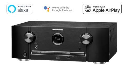 Marantz AV Receiver SR5013-7.2 Channel | Dolby Surround Sound -100W 2 Zone Power | Amazon Alexa Compatibility & Online Streaming| Works with Home Automation Systems (Discontinued by Manufacturer)