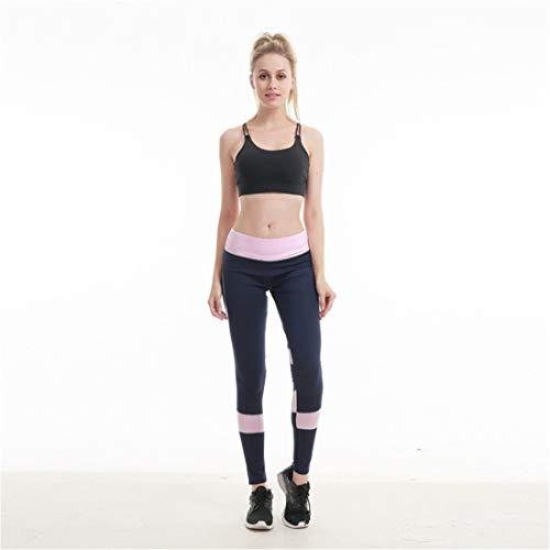 azul Transpirable Anuncios color Gimnasio Costura Pantalones s Oto Yoga Sport ajustados Gris Damas de Medias o On7qHrOY