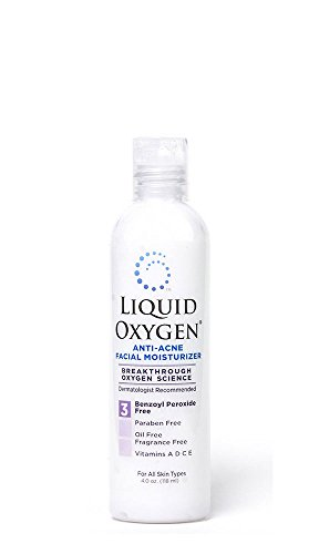 Liquid Oxygen Anti Acne Facial Moisturizer 4oz.