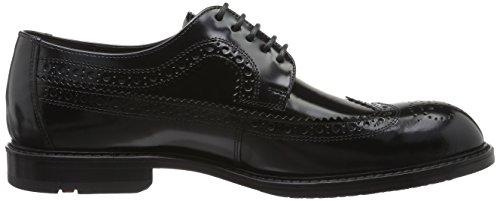 Lloyd Larson, Zapatos de Cordones Brogue para Hombre Schwarz (Schwarz)