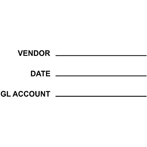 (General Ledger Accounting Stamp | Self-Inking Accounting Rubber Stamp )