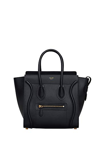 (FB-CELINE MICRO LUGGAGE HANDBAG IN SMOOTH CALFSKIN)