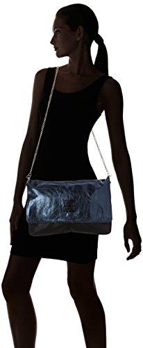 Sous les Pavés Spleen Xl, Borsa Donna, Taglia Unica Blu (Bleu (Metal Saphir/Copa Noir/Noir))