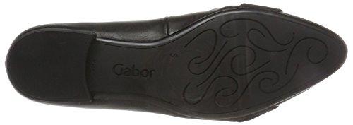 Gabor Ladies Basic Pumps, Blu Nero (37 Nero)