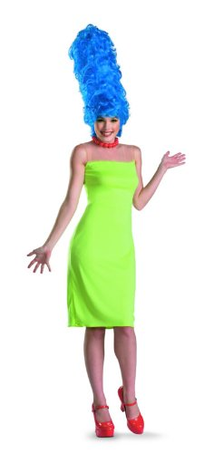 9d807f390 Amazon.com: Disguise Women's The Simpsons Marge Deluxe Costume: Clothing