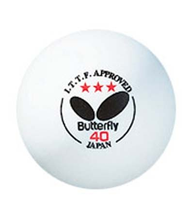 Butterfly Approved 3 Star Table Tennis product image
