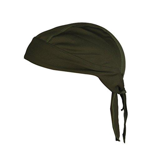 Tykusm Cyclisme Polyester anti-UV Head Wrap Bandana Casquette Chapeau Headwear pour extérieur