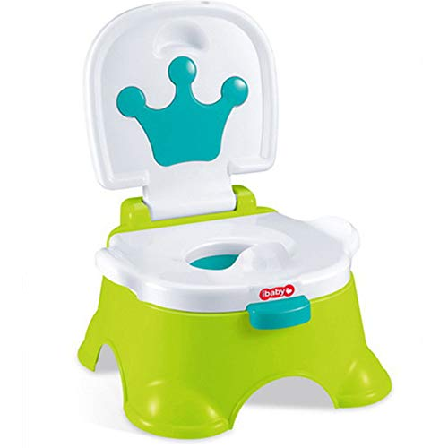 Oldeagle 3 in 1 Baby Toilet Trainer Kid Music Potty Toddler Training Safety Seat Chair for Kids Gift (Green) -