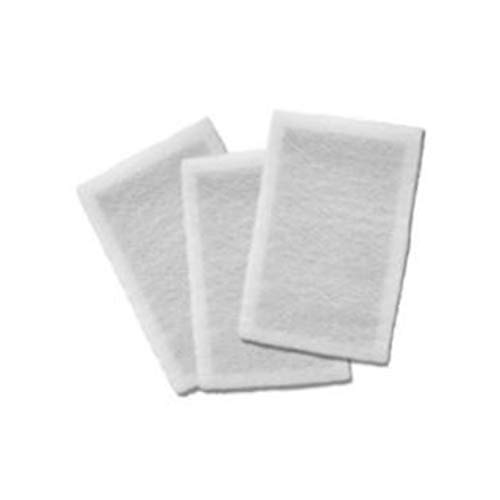 3-20x25 Nature's Home Air Cleaner Compatible Replacement Filter Media with carbon inner layer (W)