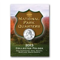National Park Quarter Mini Folder 2013
