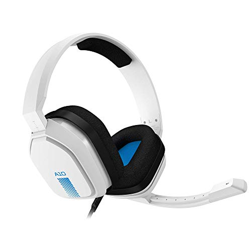 ASTRO Gaming ASTRO A10 Gaming Headset for PlayStation 4 (White) - PlayStation 4