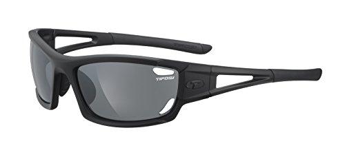 (Tifosi Dolomite 2.0 1020200115 Wrap Sunglasses,Matte Black,141 mm)