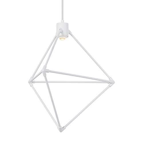 Tech Lighting White (Tech Lighting Chrome/White 700CNDR19W-LEDWD Candora 19 Chrome/White LEDWD)
