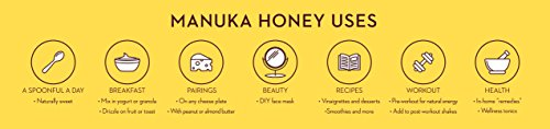 Wedderspoon Raw Premium Manuka Honey KFactor 16, 8.8 Oz, Unpasteurized, Genuine New Zealand Honey, Multi-Functional, Non-GMO Superfood by Wedderspoon (Image #6)