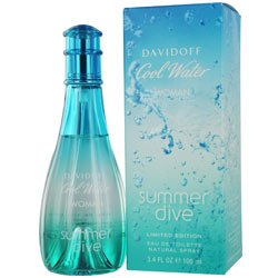 COOL WATER SUMMER DIVE by Davidoff for WOMEN: EDT SPRAY 3.4 OZ (LIMITED EDITION)