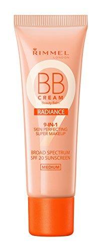 Rimmel Wake Me Up BB Cream Radiance Foundation, Medium, 1 Fl