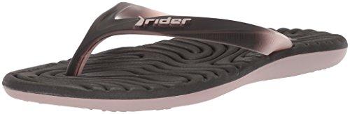 Rider Womens Smoothie IV Flip-Flop Beige/Black 8JkqzIHOwm