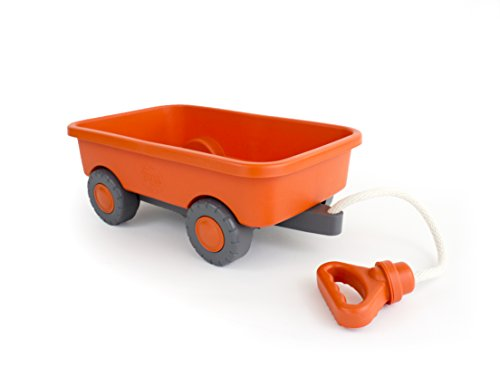 (Green Toys Wagon Outdoor Toy Orange)