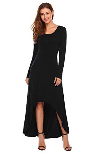 long black leather dress - 7