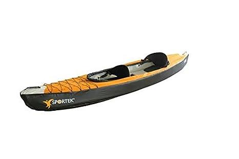 Kayak SPORTEK KK2: hinchable - 370 cm - 2 personas - Incluye ...