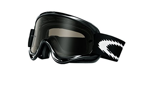 Oakley O-Frame MX Goggles (Jet Black Frame/Dk Grey Lens, One - Deals Sunglasses On Oakley