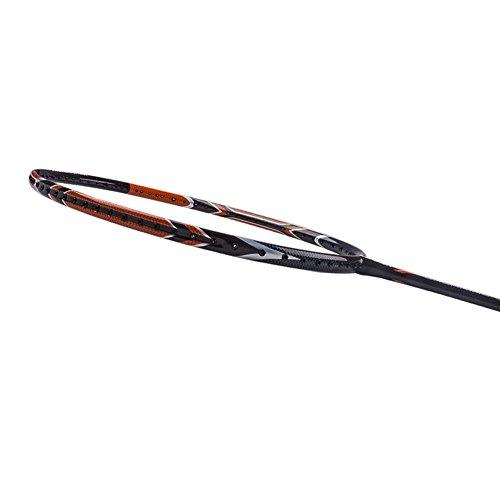 Senston WOVEN Full carbon Single High grade Badminton Racquet,Badminton Racket,Including Badminton Bag,Red color