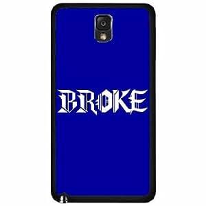 Broke TPU RUBBER SILICONE Phone Case Back Cover Samsung Galaxy Note III 3 N9002