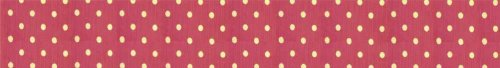 C&F Home 39X76 Twin Bed Skirt/Dust Ruffle, PINK POLKA DOTS by C&F Home (Image #2)