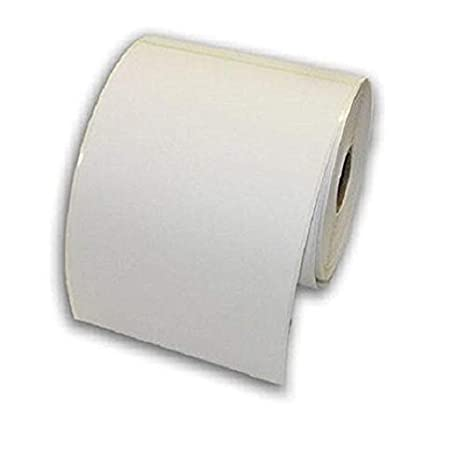 500 etichette per rotolo GK420D LP2824 1 Roll bianco GK420T LP2844 autoadesive per stampante termica GX420D Etichette termiche bianche in tinta unita 6 x 4