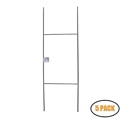 """MTB H Frame Wire Stakes 30""""x10"""" (Pkg of 5/10/25/50/100)"""