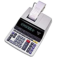 Sharp EL-2630PIII Two-Color Printing Calculator 4.8 Lines/Sec 4' Black/Red