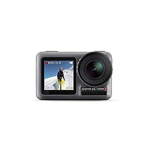 DJI Osmo Action Cam, Camera Digitale con Doppio Display, Fino a 11 m, Resistente all'Acqua, Foto e Video in 4K HDR, 12MP, 145° Camera Angolare, Nero 7 spesavip