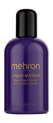 Mehron Makeup Liquid Face and Body Paint (4.5 oz) (PURPLE)
