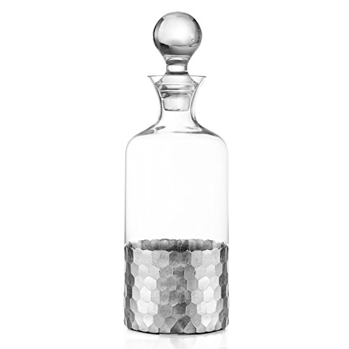 Fitz and Floyd Daphne Decanter, Silver by Fitz and Floyd