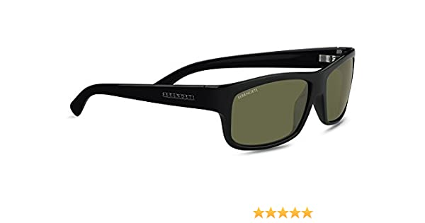 Serengeti Eyewear MARTINO 7492 - Gafas de sol polarizados, color negro