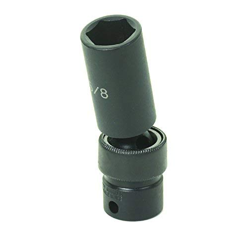 Grey Pneumatic 3//8 Drive x 12mm Magnetic Deep Socket 1012MDG