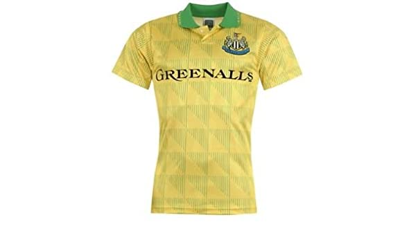 Newcastle United de puntuación de dibujar Retro M 1990 diseño de ...