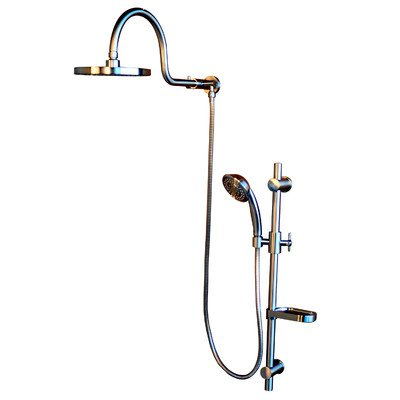 Pulse 1019-BN Aqua Rain Showerspa BN Retrofit Shower System