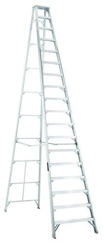 Louisville Ladder AS1018 300-Pound Duty Rating Aluminum Stepladder, 18-Foot