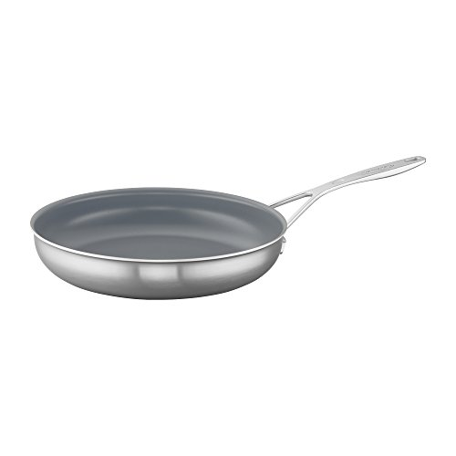 "Demeyere Industry 5-Ply 11"" Stainless Steel Ceramic Nonstick Fry Pan"