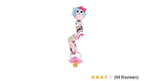 36167e19d60a Amazon.com   Mud Pie Pacifier Clip