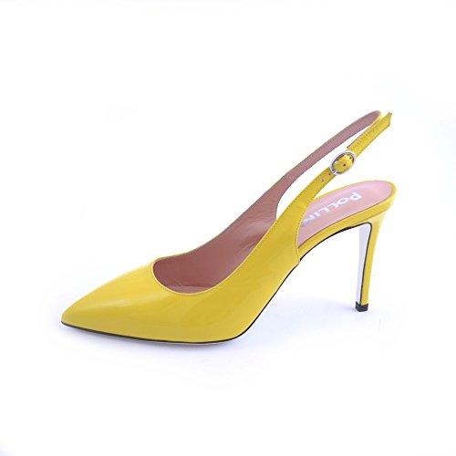 Pollini , Damen Pumps gelb gelb