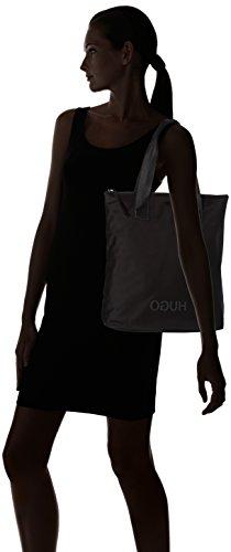 b Bolsos Mujer black Shopper Cm H T Negro 10x36x32 X Totes Record Hugo TFOwzz