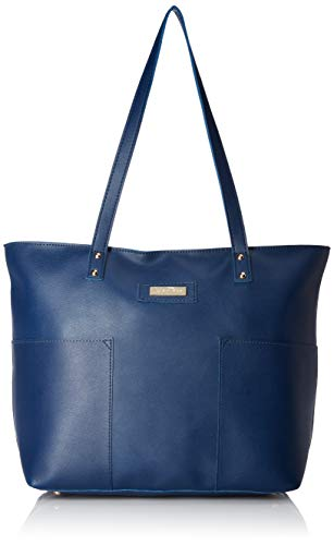 - Lica Pezo Cutting Blue Women Tote (Blue)