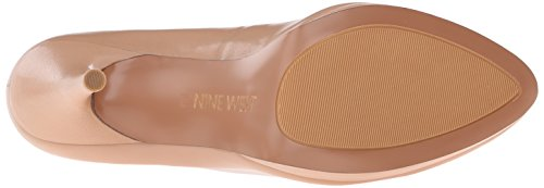 Nine West Womens Keemah Leather Keemah Leather Light Natural/Light Natural wTp0r