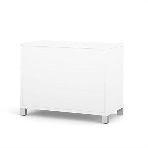 Atlin Designs 2-Door Storage Unit in White