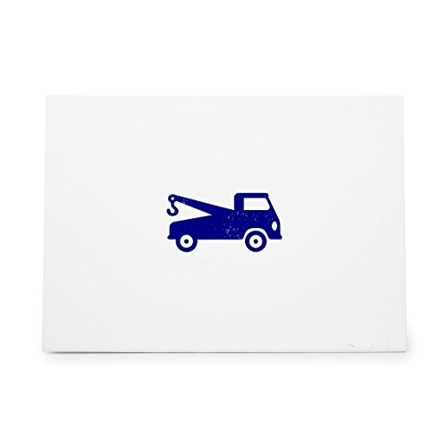 Tow Truck Wrecker Vehicle Van Style 4925, Rubber Stamp Shape great for Scrapbooking, Crafts, Card Making, Ink Stamping Crafts