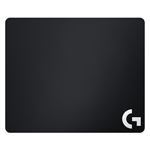 Logitech G640 Cloth Gaming Mouse Pad, 460 x 400 mm, Thickness 3 mm, for PC/Mac Mice - Black